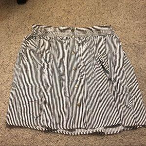 Forever 21 Striped Skirt